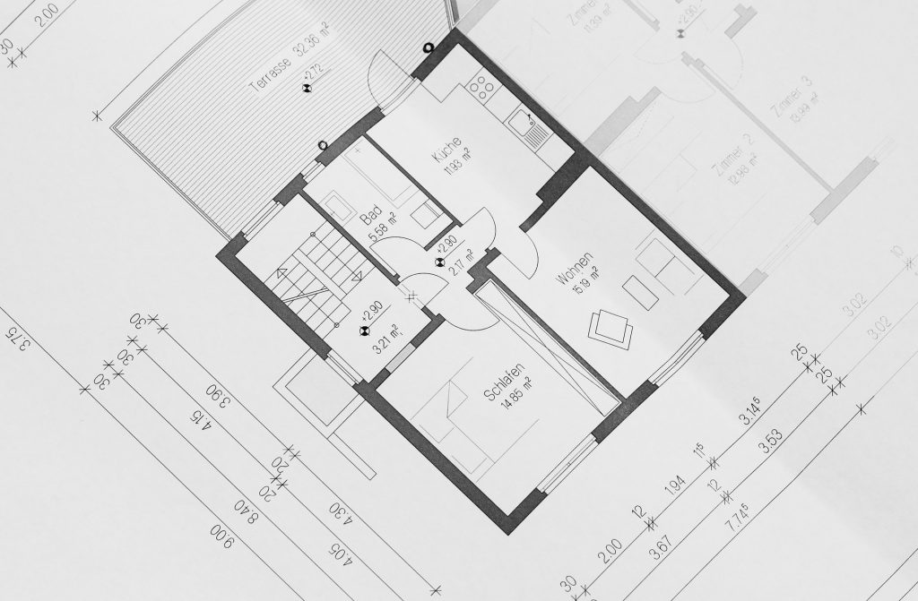 plan extension de maison